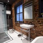 ванная комната в стиле лофт фото идеи