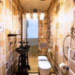 ванная комната в стиле лофт дизайн фото
