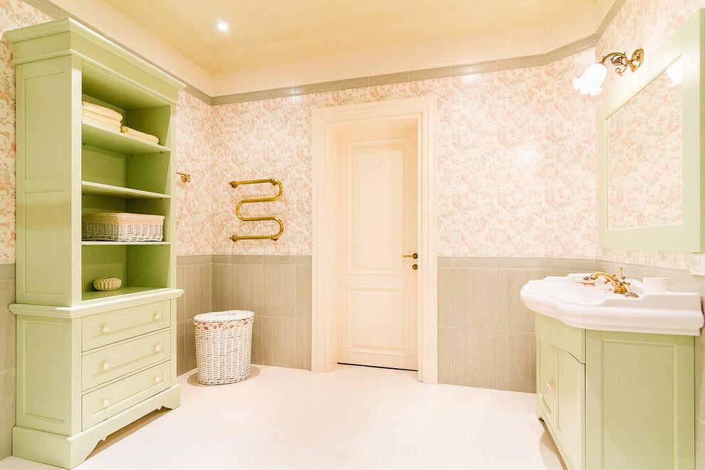 ванная комната в стиле прованс дизайн