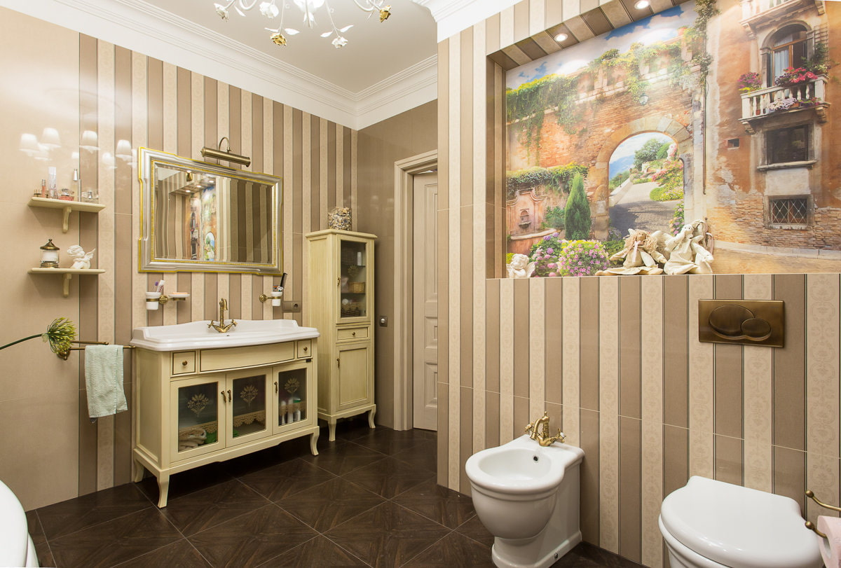 ванная комната в стиле прованс фото интерьер