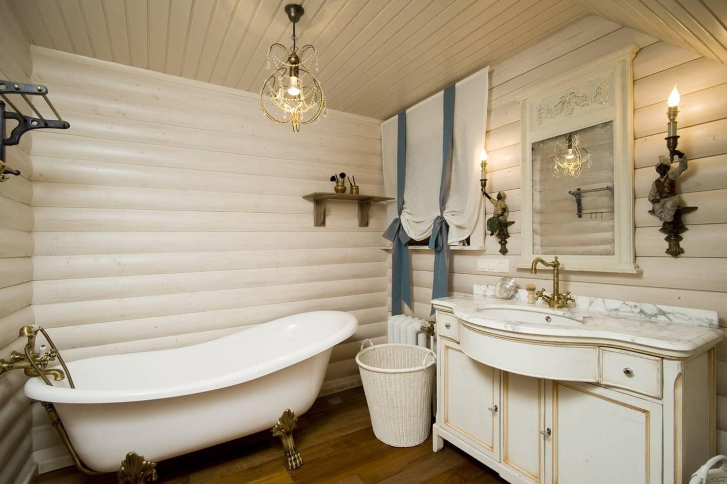 ванная комната в стиле прованс идеи интерьер