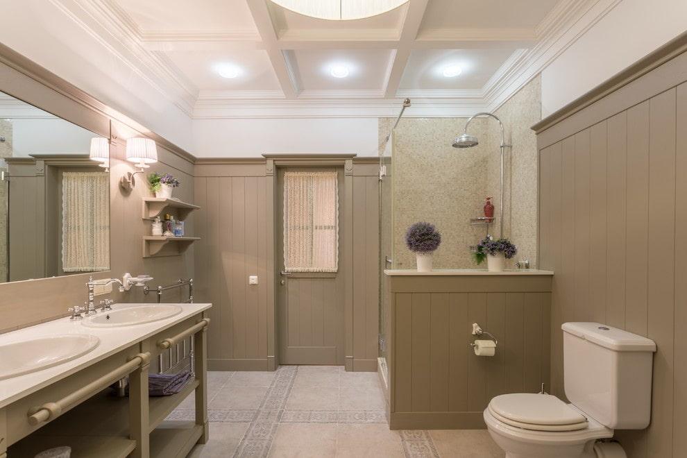 ванная комната в стиле прованс интерьер фото