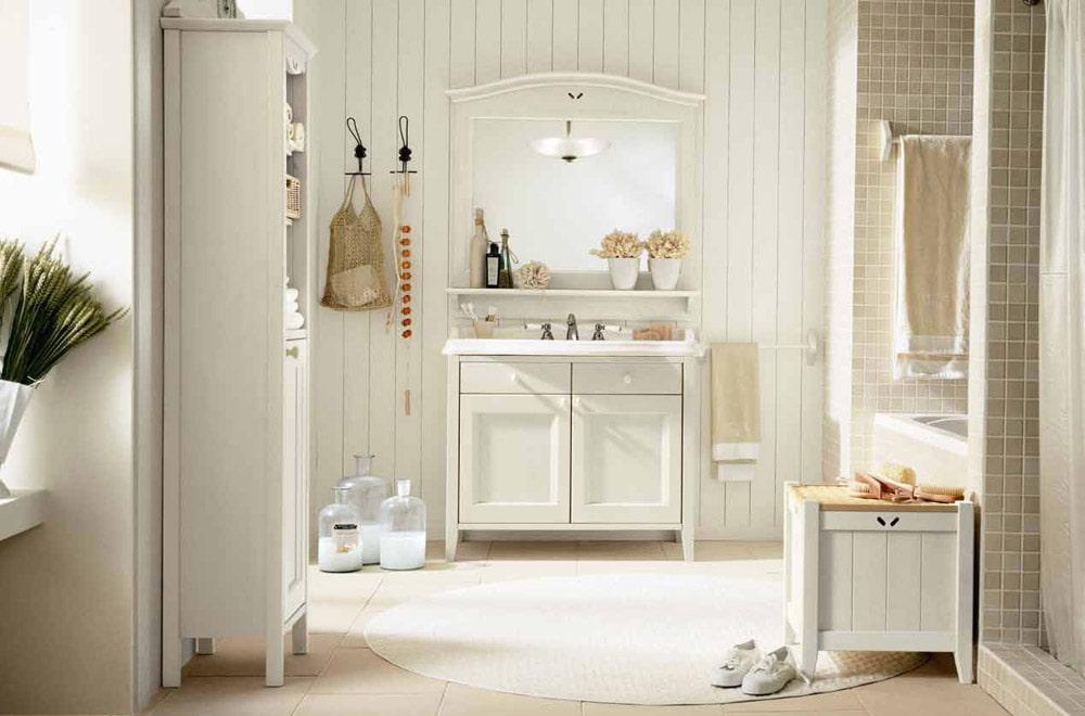 ванная комната в стиле прованс интерьер