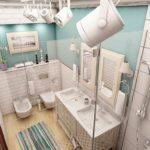 ванная в скандинавском стиле декор идеи