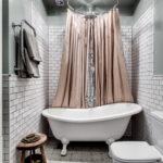 ванная в скандинавском стиле фото интерьера
