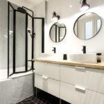 ванная в скандинавском стиле идеи интерьер