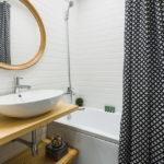ванная в скандинавском стиле оформление