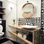 ванная в скандинавском стиле дизайн