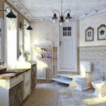 ванная комната в стиле прованс фото вариантов