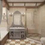 ванная комната в стиле прованс виды дизайна