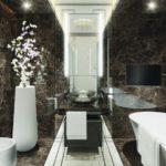 ванны из литьевого мрамора оформление фото
