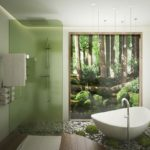 ванны из литьевого мрамора идеи оформления