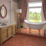 ванны из литьевого мрамора дизайн фото