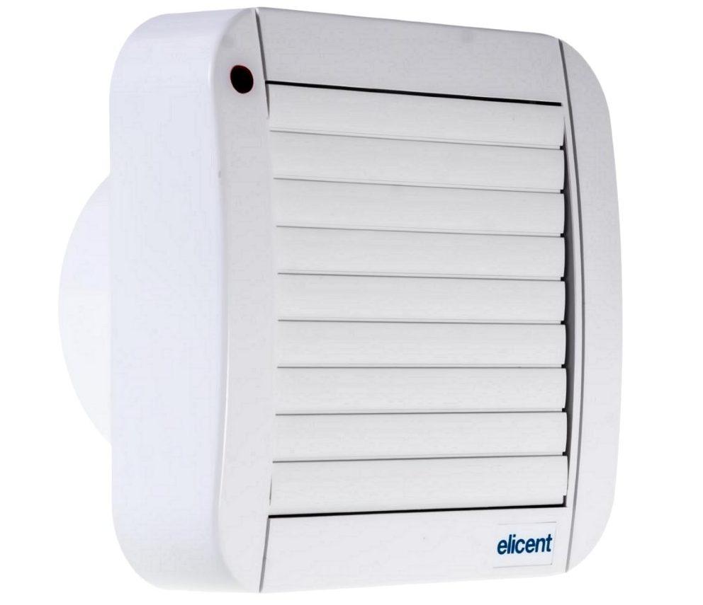 вентилятор с жалюзи