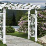 вертикальное озеленение в саду оформление идеи