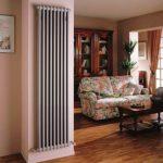 вертикальные радиаторы отопления оформление идеи