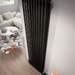 вертикальные радиаторы отопления фото дизайн