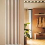 вертикальный радиатор отопления дизайн