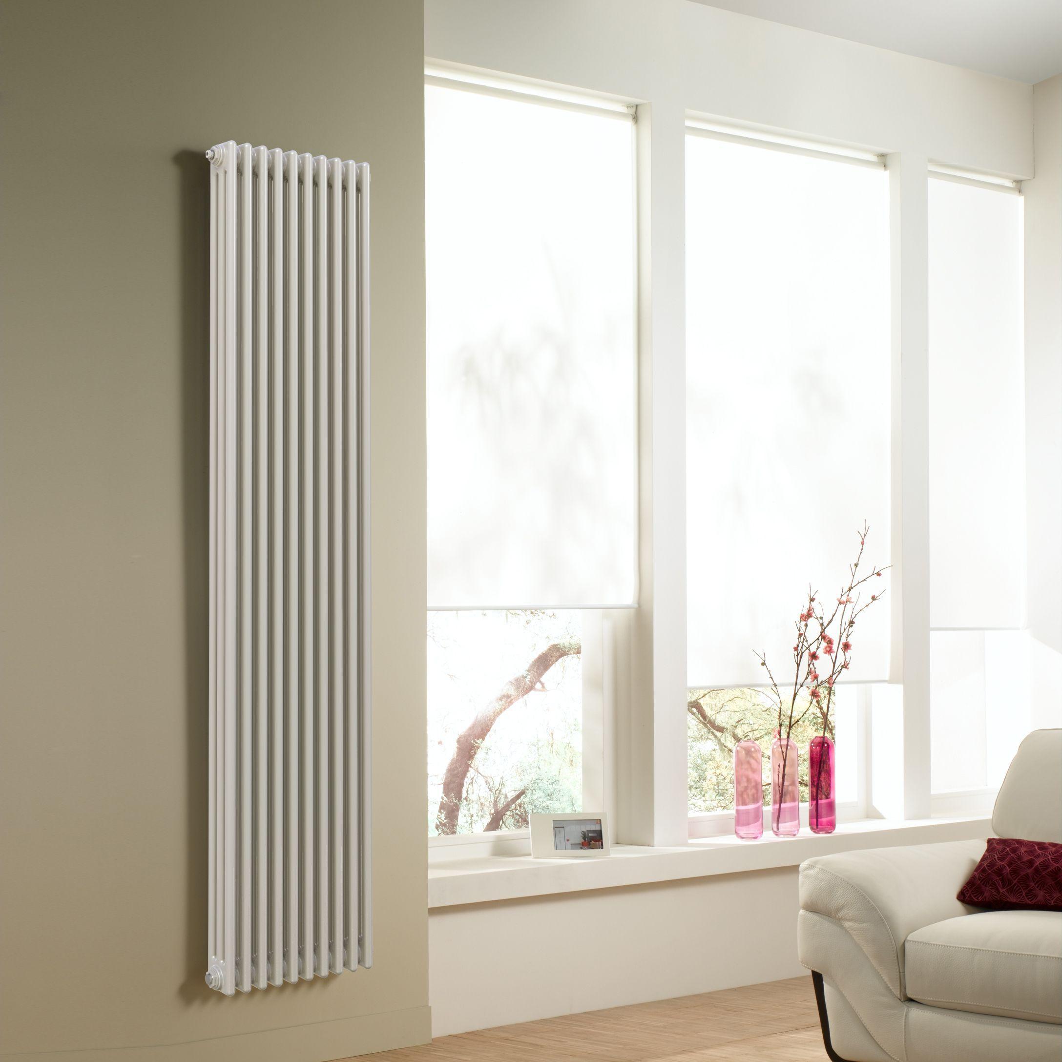 вертикальный радиатор отопления дизайн идеи