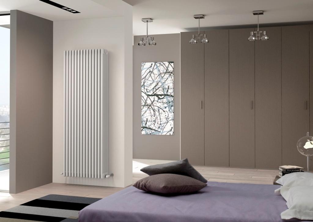 вертикальный радиатор отопления фото дизайна