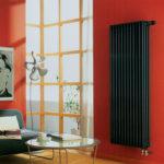 вертикальный радиатор отопления фото идеи