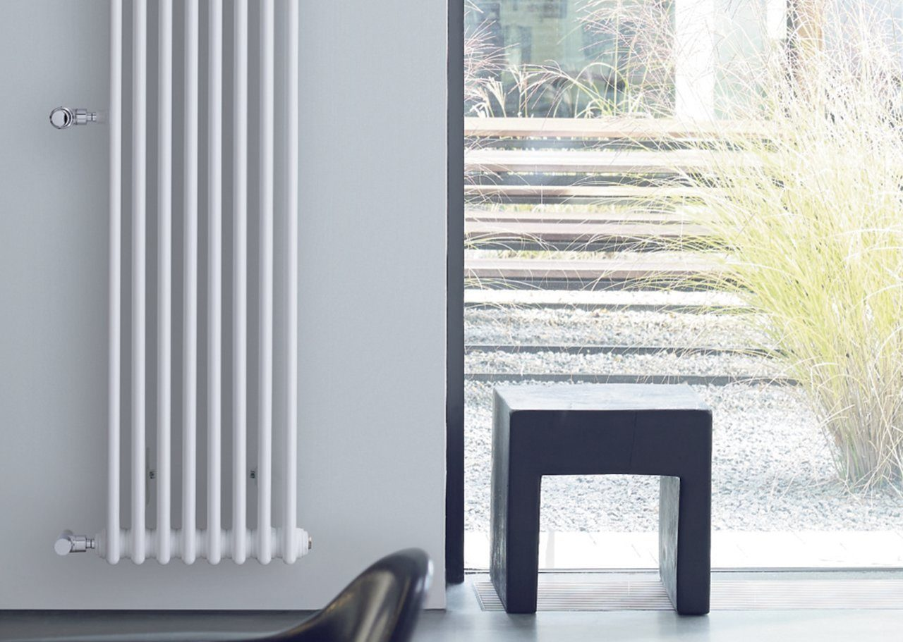 вертикальный радиатор отопления идеи дизайн
