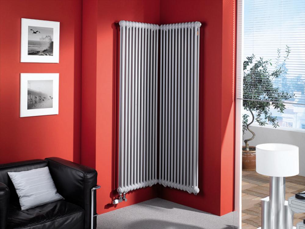 вертикальный радиатор отопления идеи фото