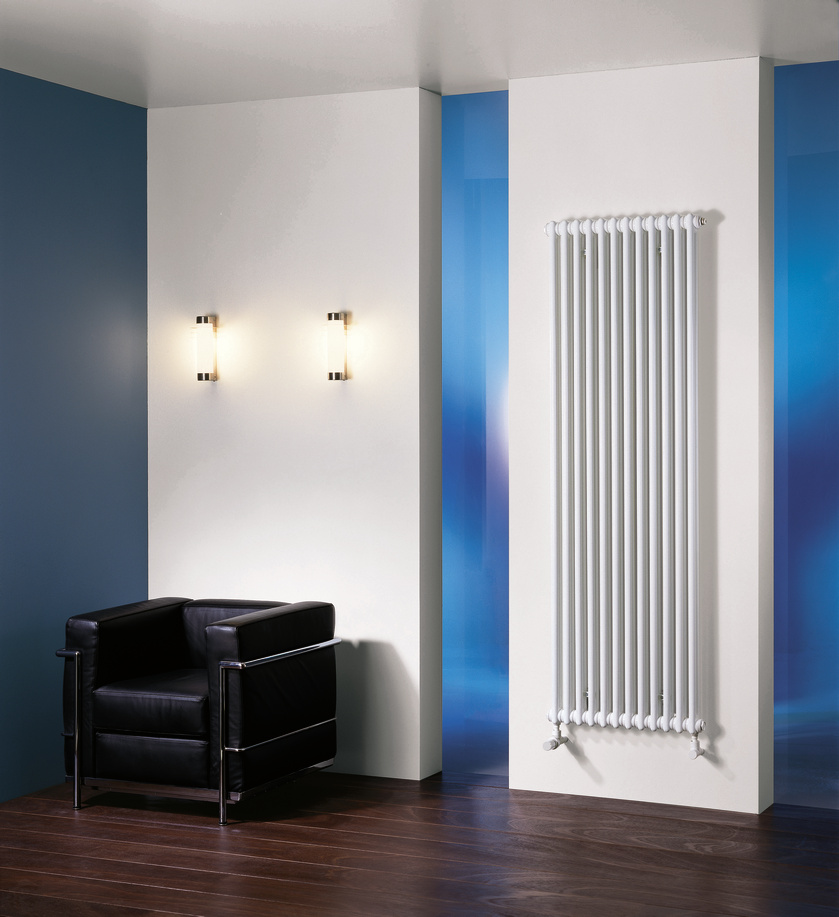 вертикальный радиатор отопления идеи