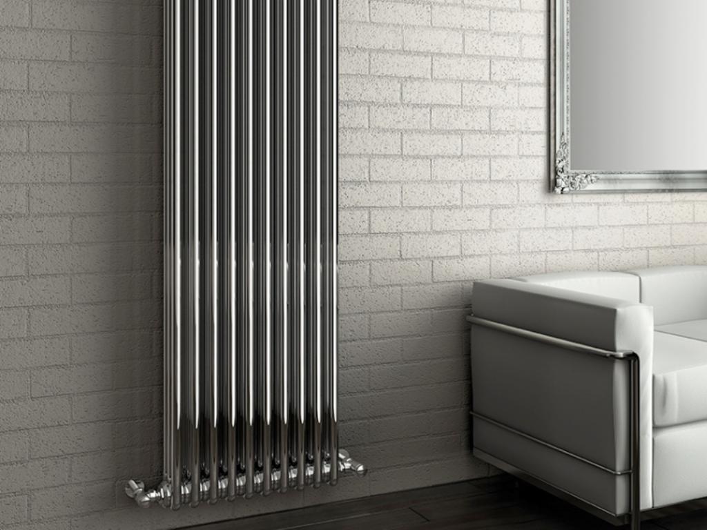 вертикальный радиатор отопления из стали