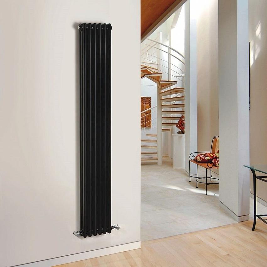вертикальный радиатор отопления трубчатый