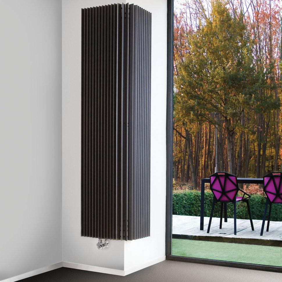 вертикальный радиатор отопления угловой
