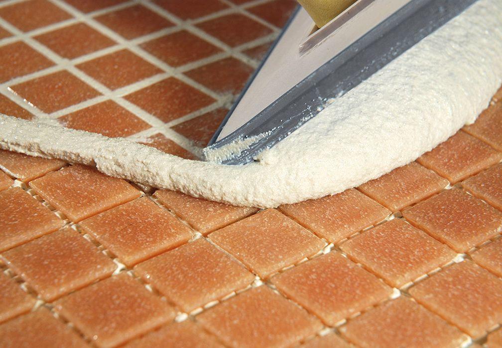 белая затирка для плитки